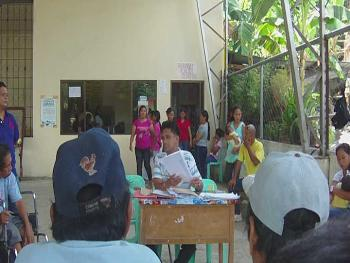 Barangay Visitation(Discussion on the Rights of PWDs')